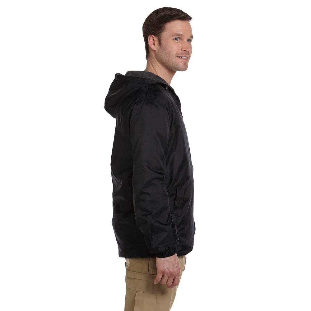 c7a394523 Dickies Men's Fleece-lined Hooded Nylon Jacket
