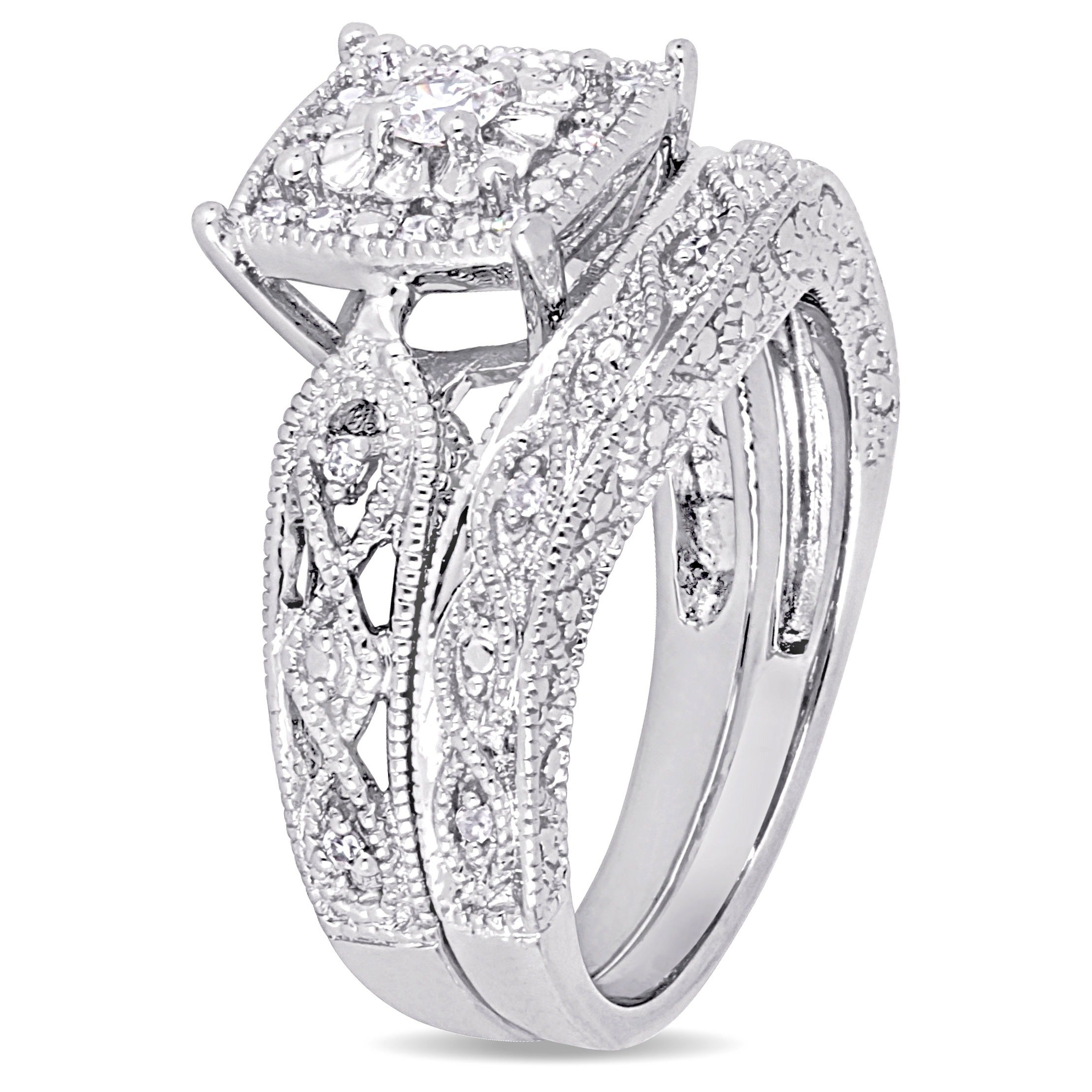 youtube watch engagement rings oval bridal center diamond set halo pave ring wedding micro