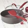 Rachael Ray Cucina Tools Cranberry Red Lazy Solid Turner