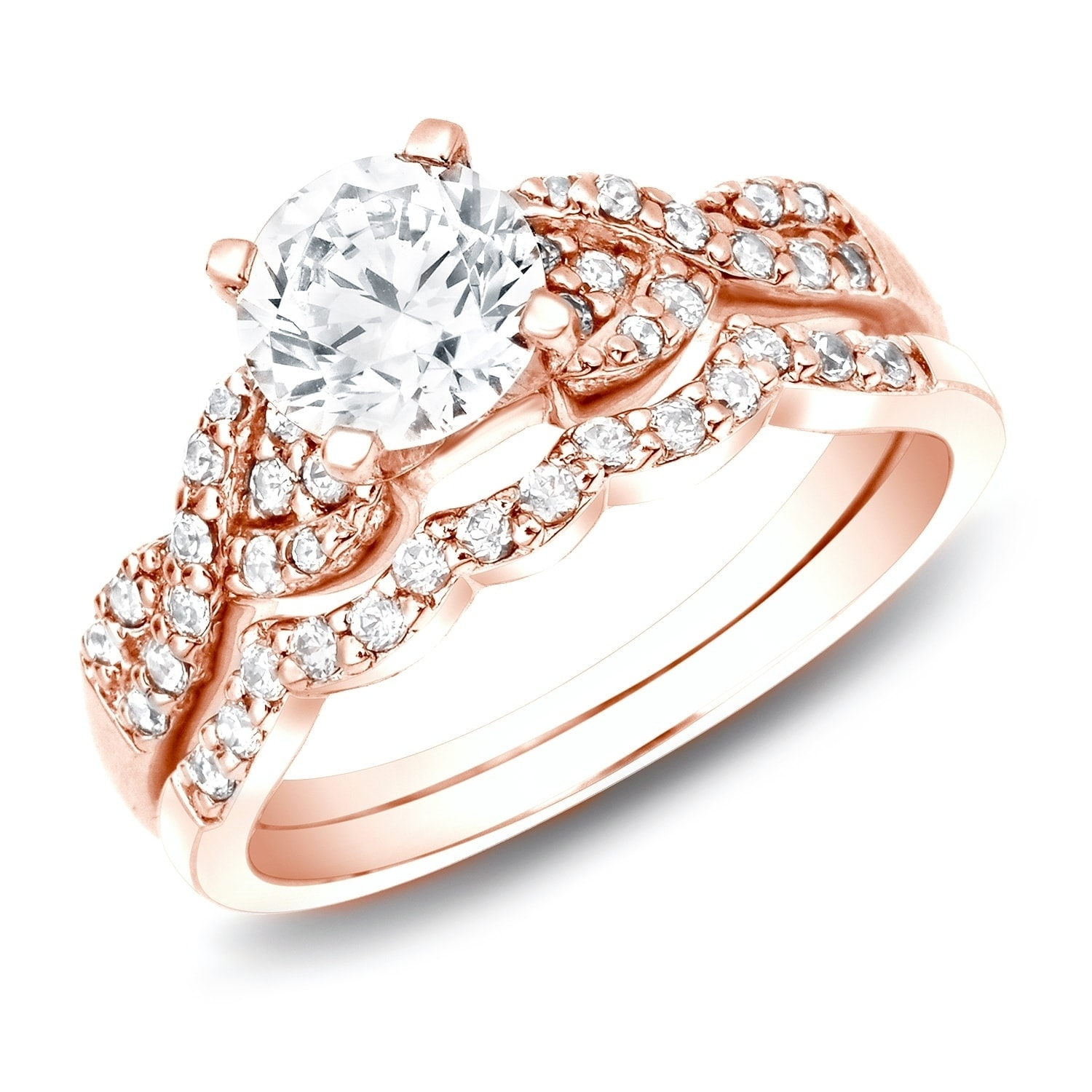 in ring ags jewels band wedding white gold milgrain i eternity certified j ctw ct color vir products diamond