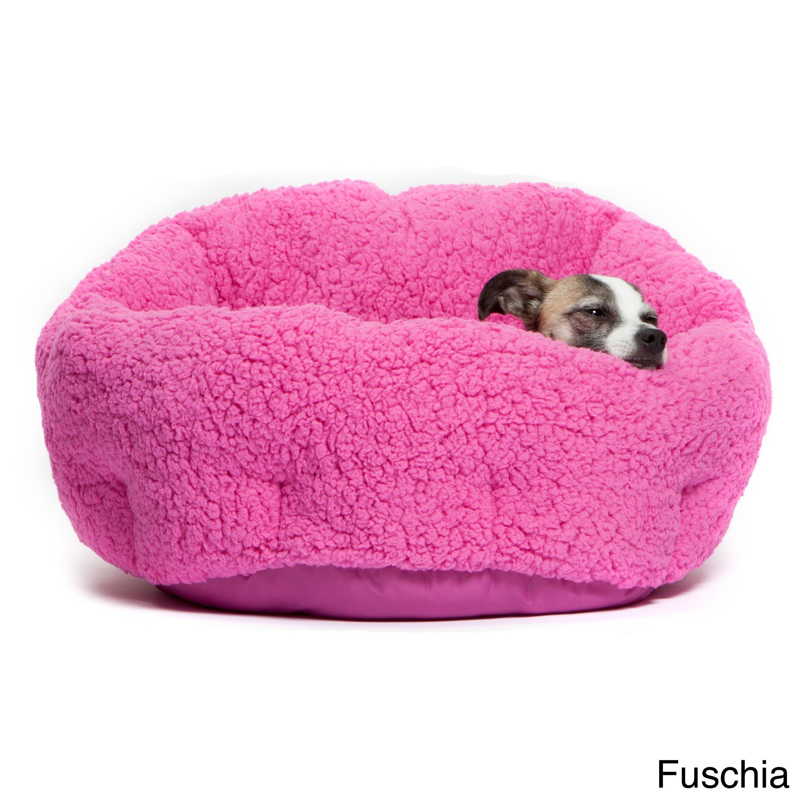 Shop Best Friends By Sheri OrthoComfort Sherpa Deep Dish Cuddler Dog Bed    Free Shipping On Orders Over $45   Overstock.com   9219177