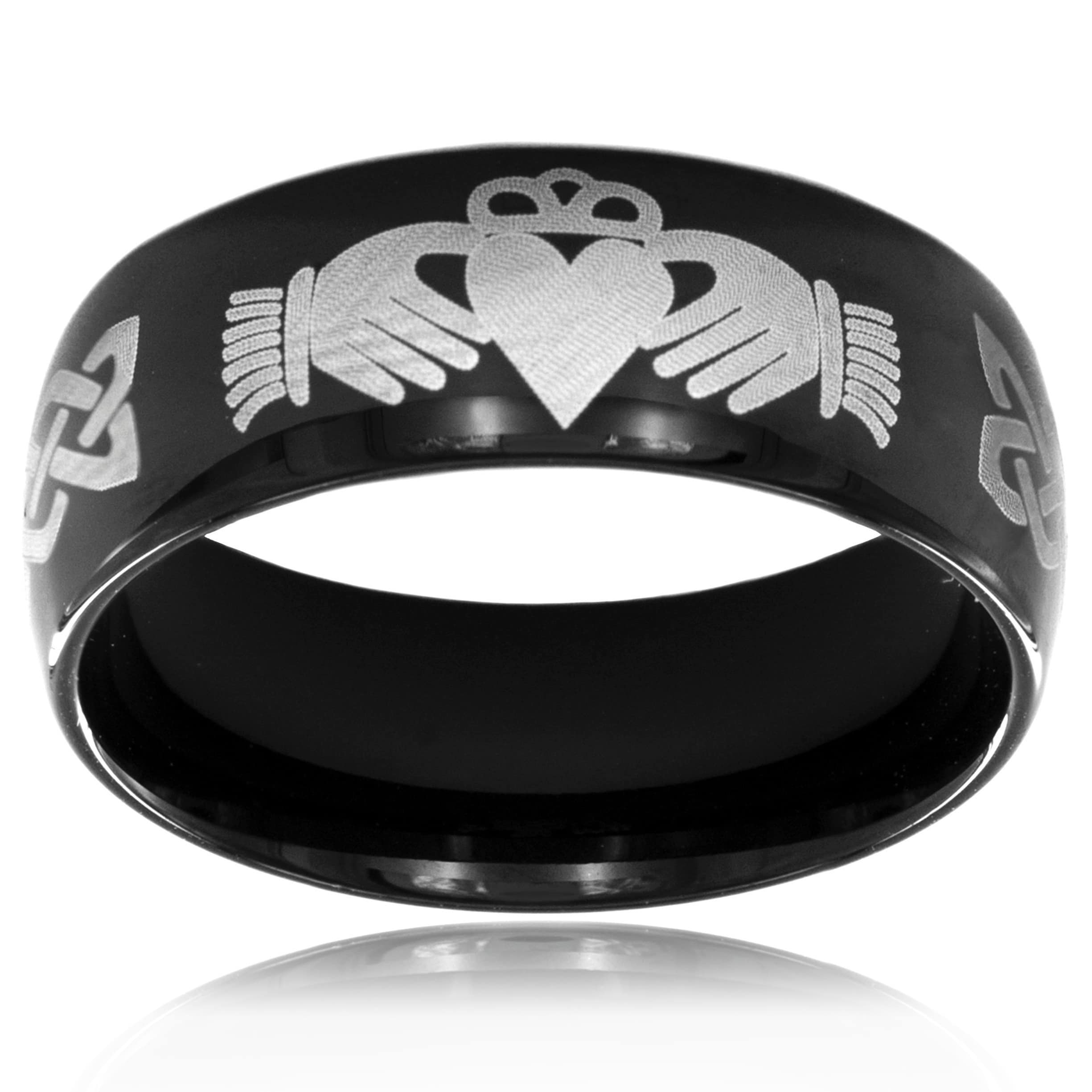 knot getty the herakles s steel ring stainless rings products store
