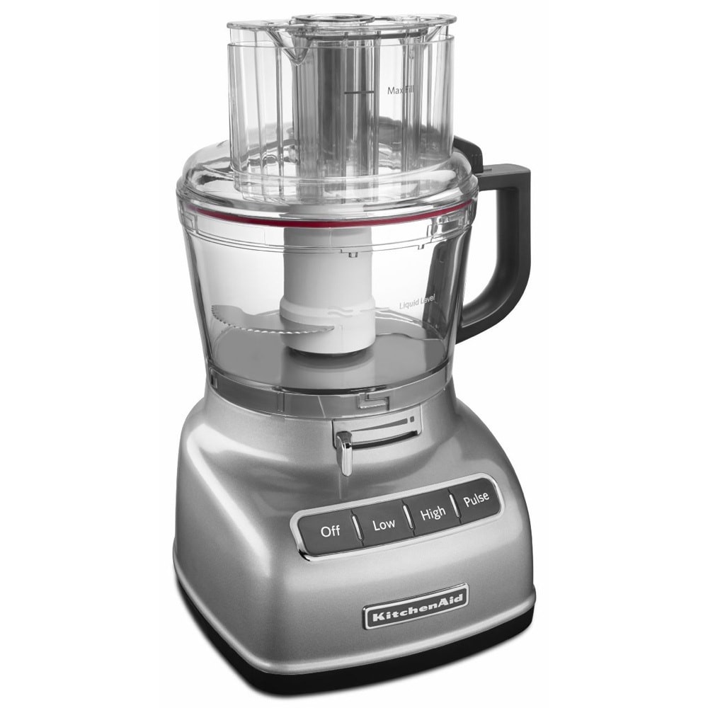 Kitchenaid Kfp0933cu Contour Silver 9 Cup Food Processor With Exactslice System Free Shipping Today 16396933