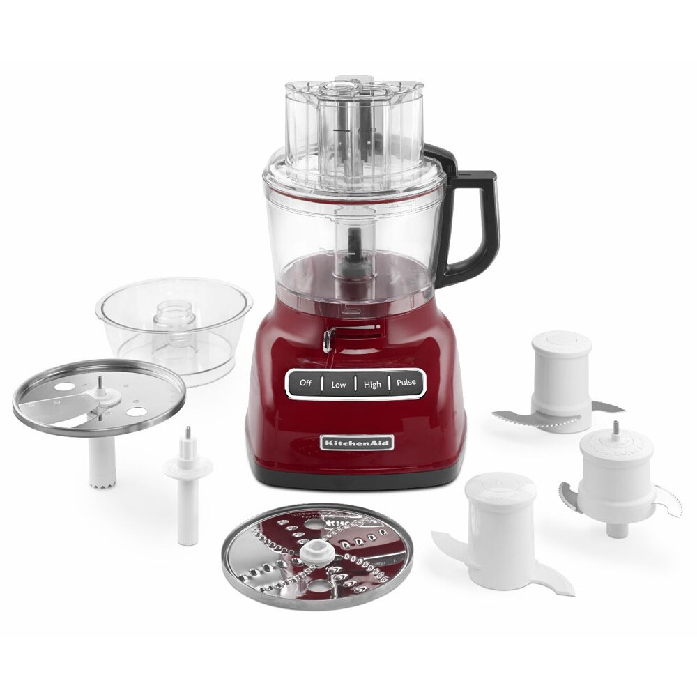 Kitchenaid Kfp0933er Empire Red 9 Cup Food Processor With Exactslice System Free Shipping Today 9229526