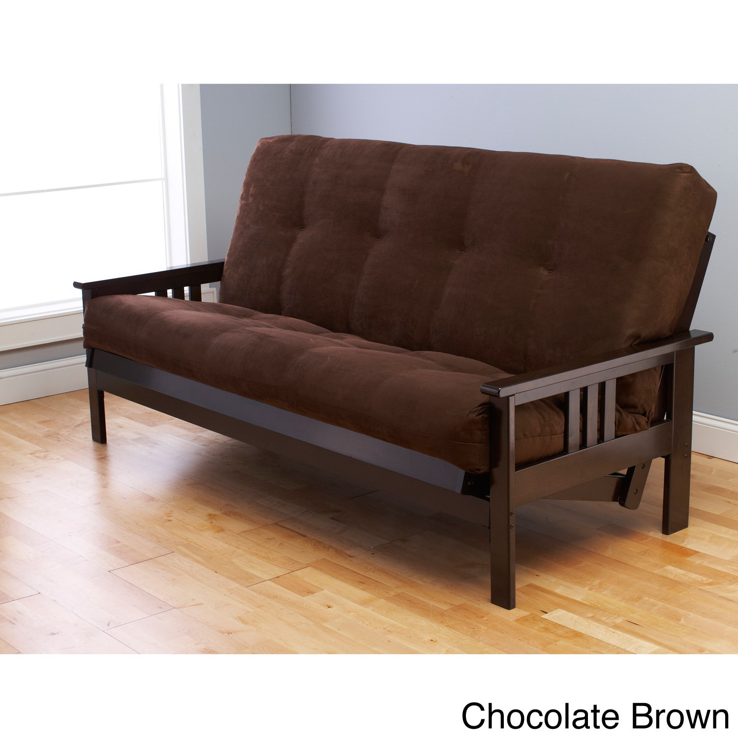 futons frames and chocolate planet frame more finish seattle futon nad in