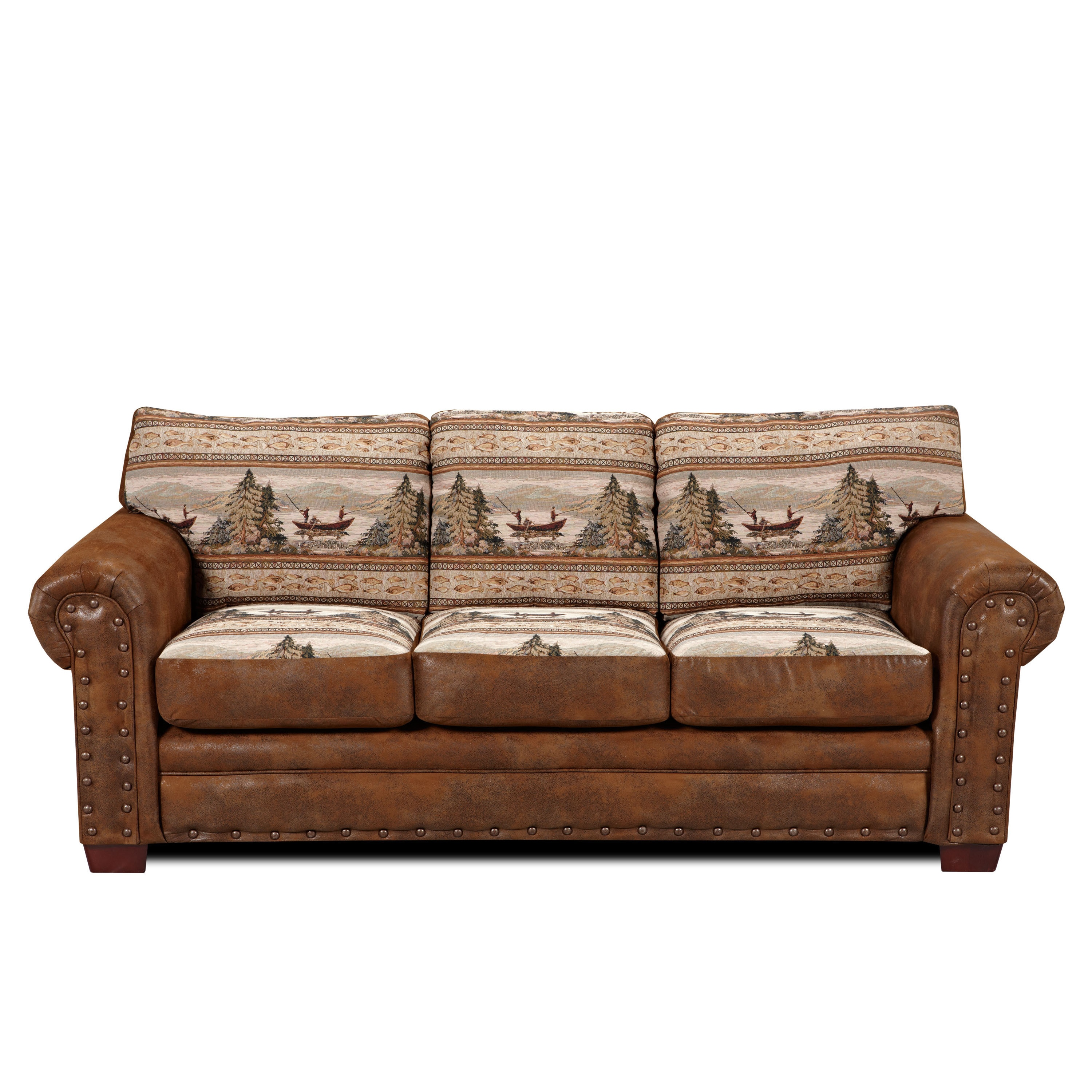 Alpine Lodge Sofa On Free Shipping Today 9230514