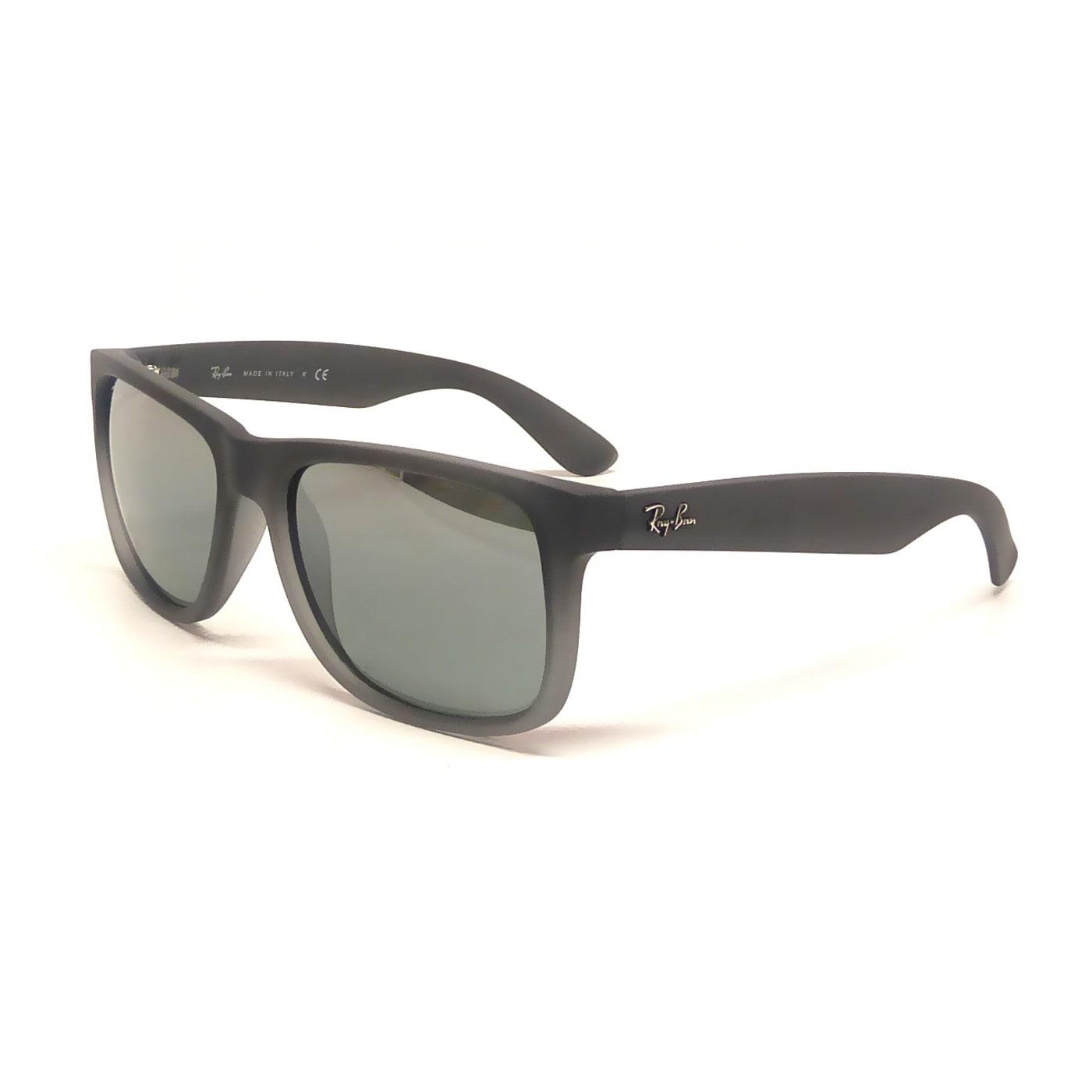 2e4a16a3f5 Ray-Ban Justin Wayfarer RB4165 Unisex Gray Frame Silver Gradient Lens  Sunglasses