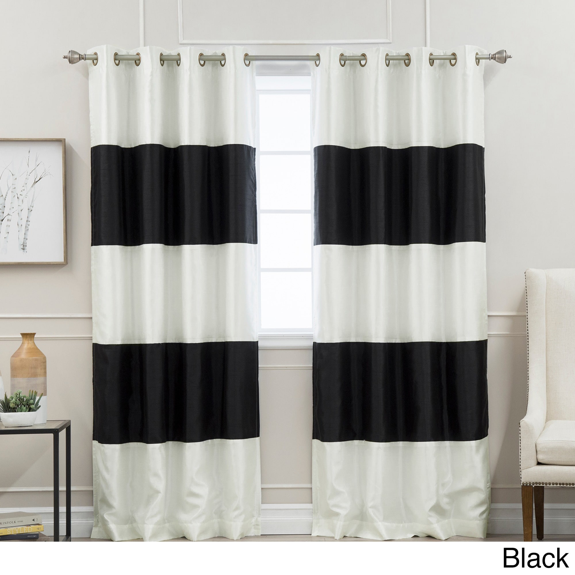 curtain black homesfeed red big wide room white for extra and window blackout curtains in
