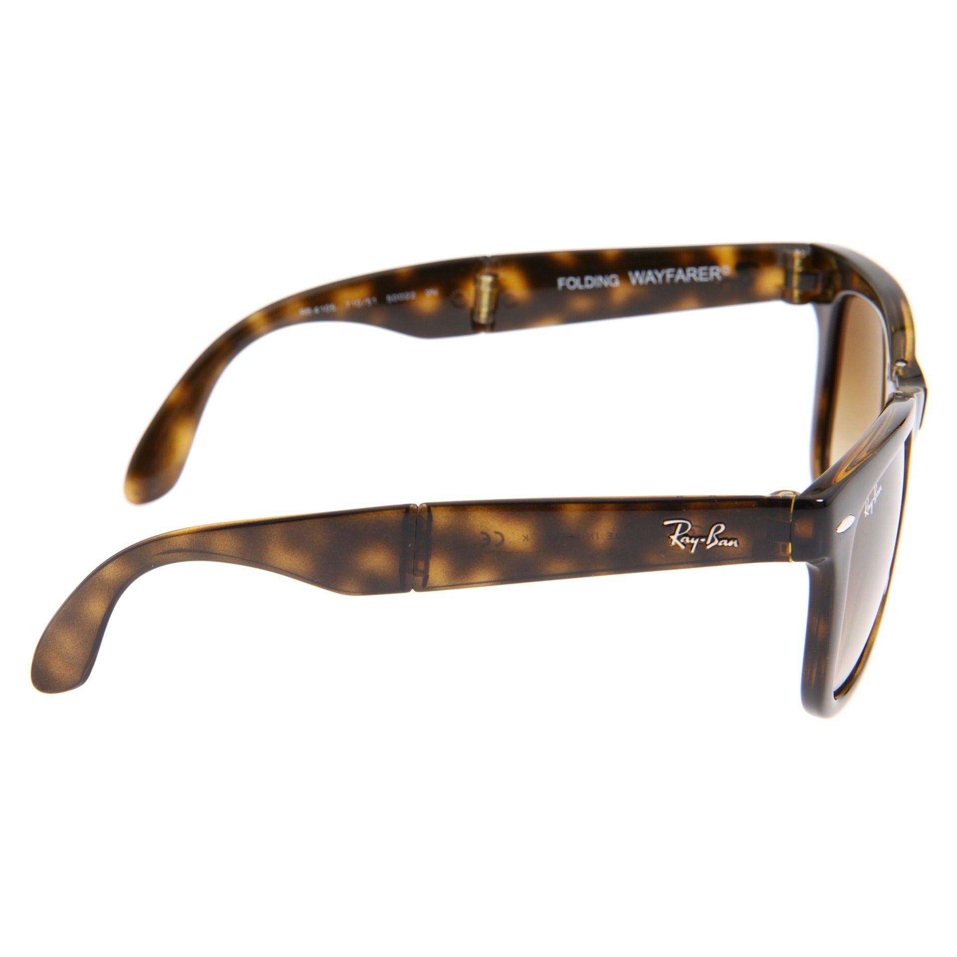 0afccb2311 ... coupon code shop ray ban folding wayfarer rb4105 unisex 50 mm lens  sunglasses brown large free