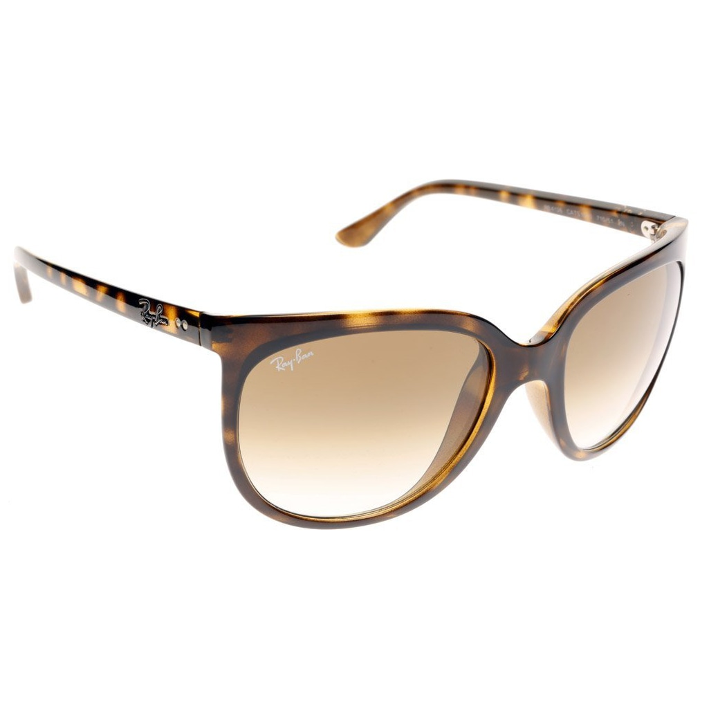 2d33f6422b ... get shop ray ban womens rb4126 cats 1000 sunglasses brown large free  shipping today overstock 9237764