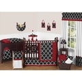 Sweet Jojo Designs Trellis 9-piece Crib Bedding Set
