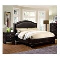Furniture of America 2-piece Transitional Style Bed with Nightstand Set
