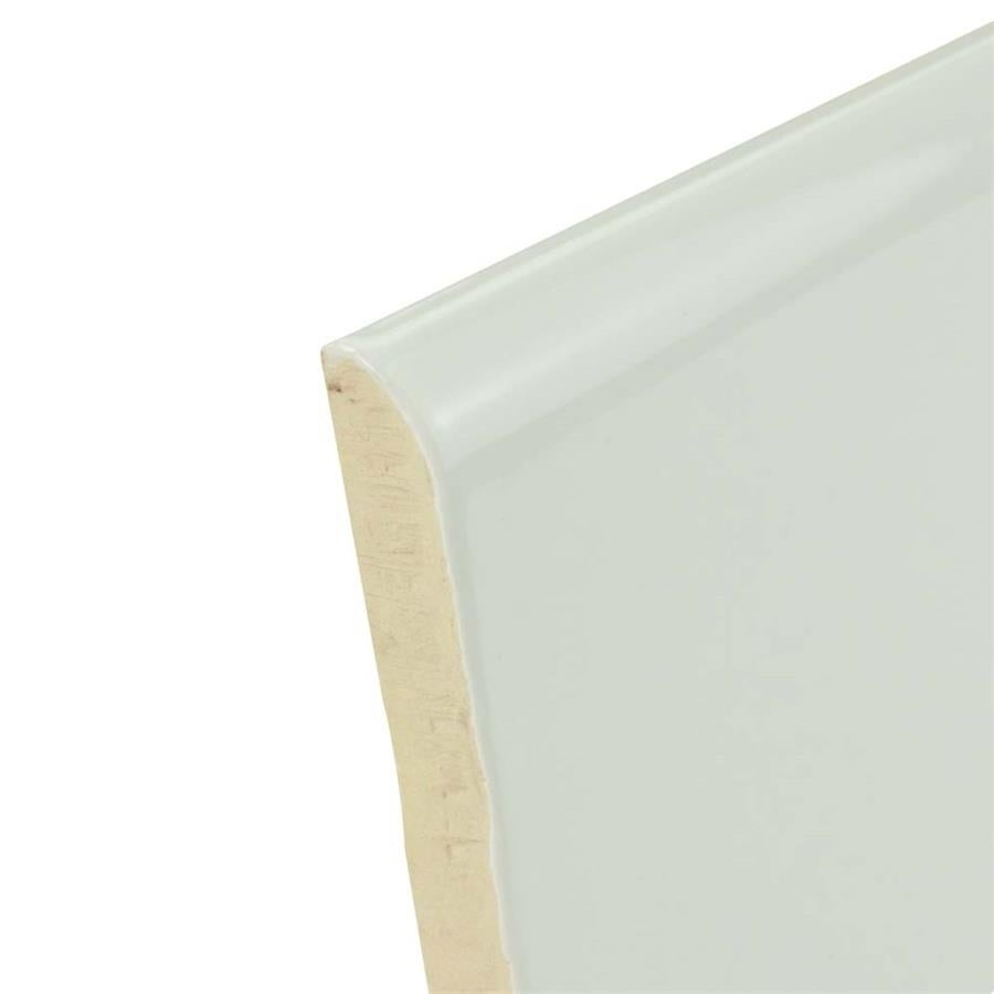 Bullnose ceramic tile columbialabelsfo somertile 3x12 inch gloucester zocalo bullnose ceramic wall trim dailygadgetfo Choice Image