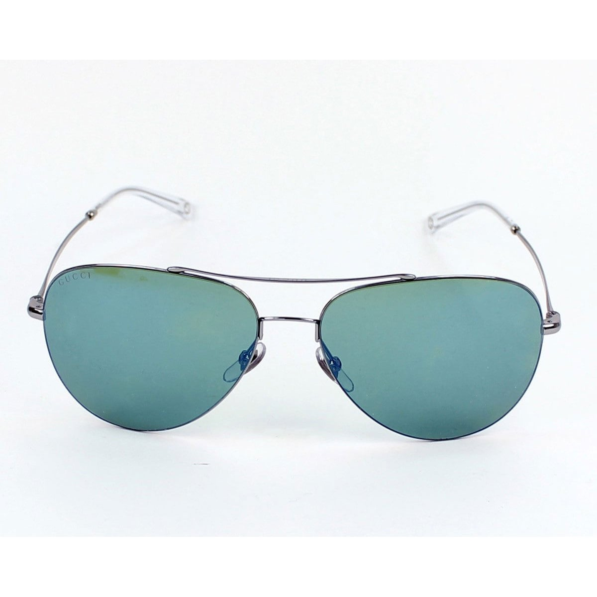 434573fc959 Shop Gucci  GG 2245 S 6LBHZ  Ruthenium Grey Aviator Sunglasses (As Is Item)  - Free Shipping Today - Overstock - 16171584