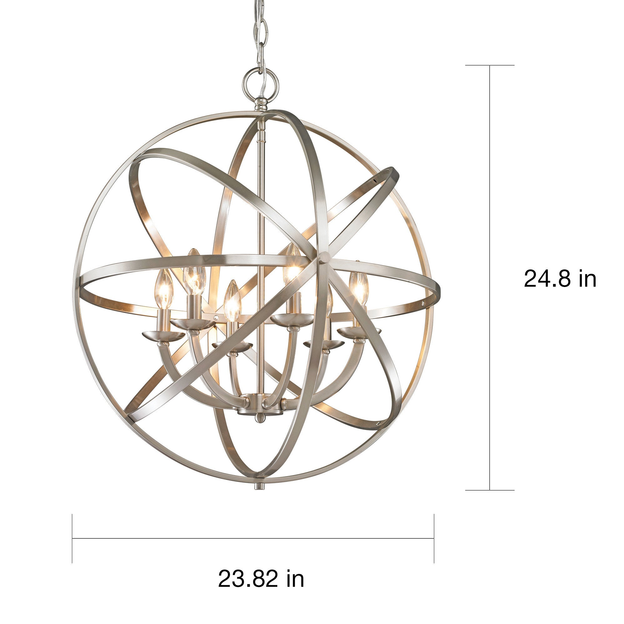chandelier nickel brown arteriors dallas luxdeco com