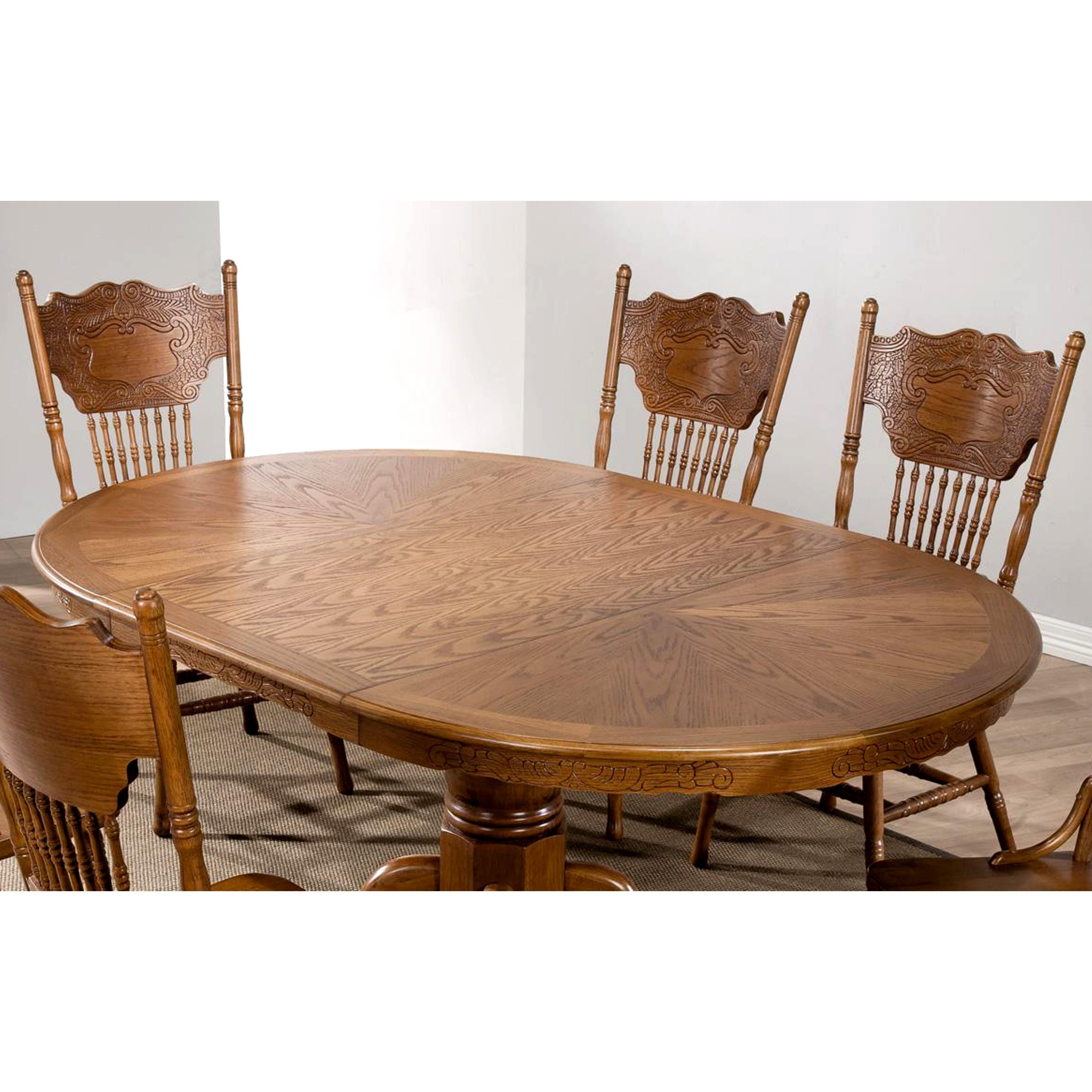 Shop Bologna Windsor Country Dining Set   Free Shipping Today    Overstock.com   9248721