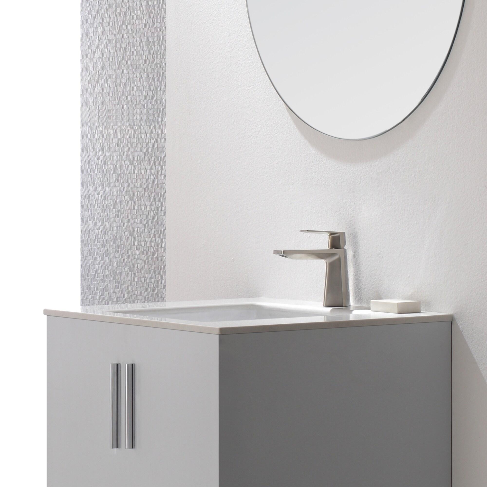 Shop KRAUS Aplos Single Hole Single-Handle Bathroom Faucet - Free ...