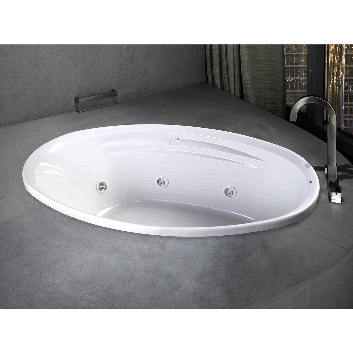 Clarke Products W3858C-01CMH Concentra 1 Whirlpool Tub - Free ...