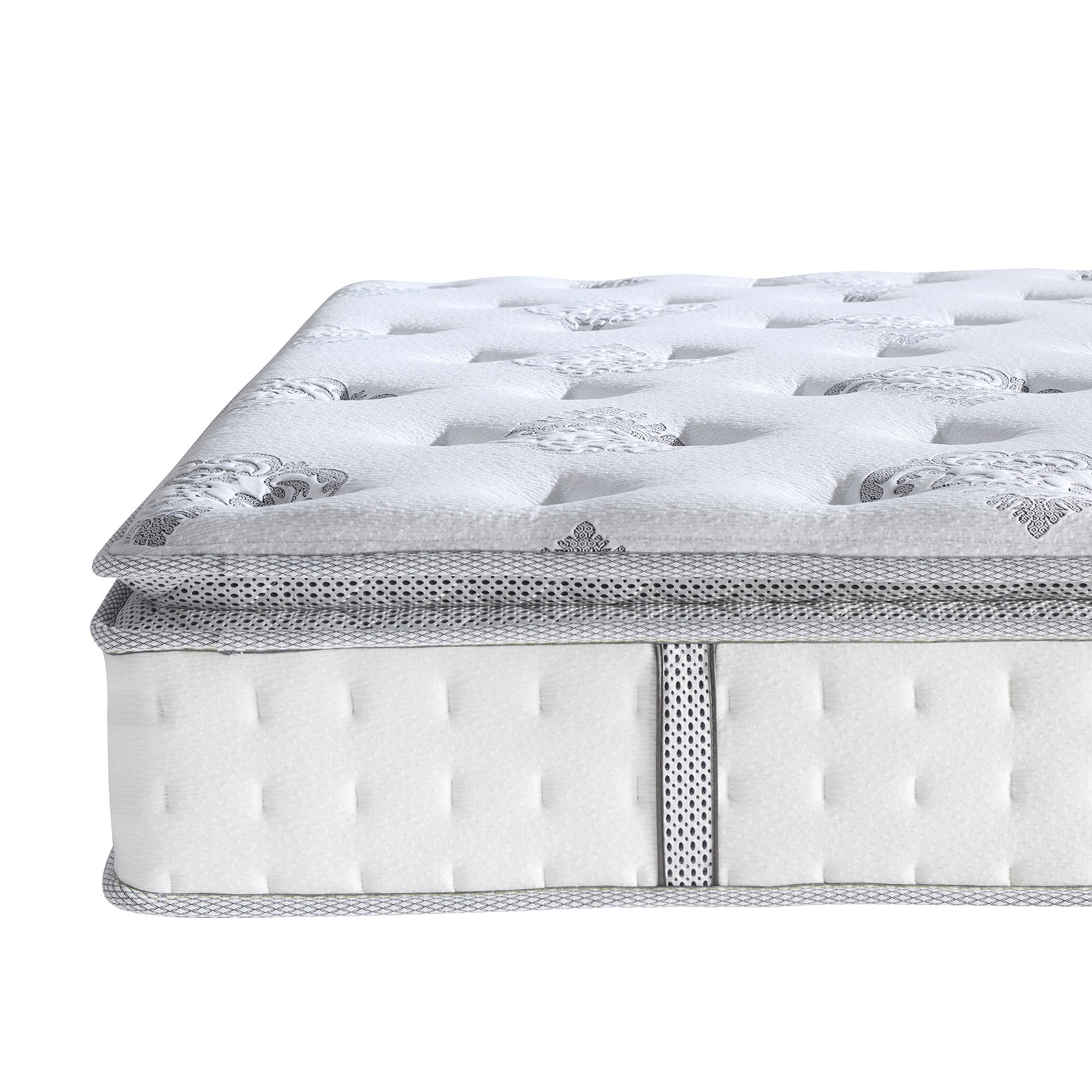 Postureloft Newberry 12 Inch Hybrid Pillowtop Mattress On Free Shipping Today 9253638