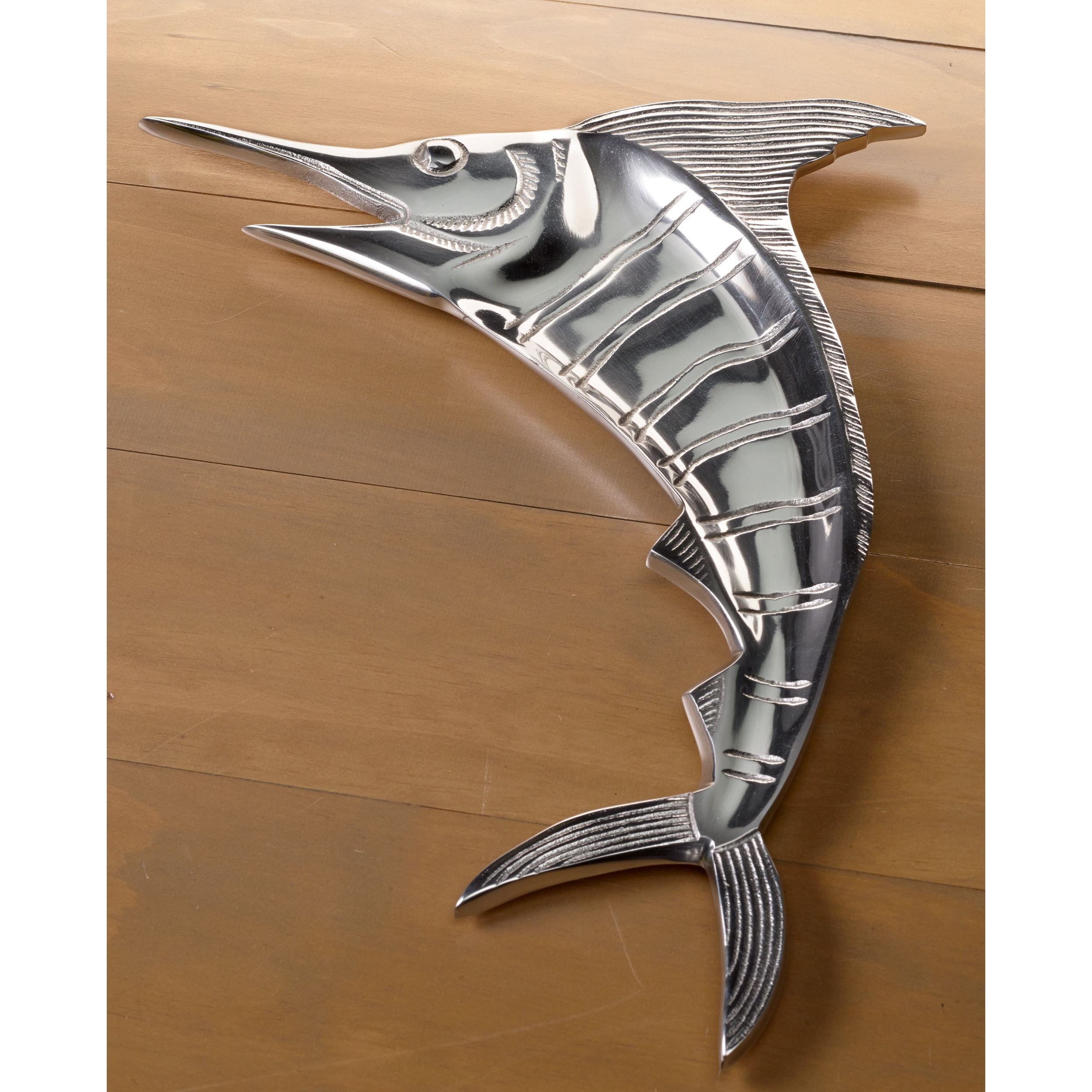 Large casted aluminum marlin 20 inch platter free shipping on large casted aluminum marlin 20 inch platter free shipping on orders over 45 overstock 16428471 dailygadgetfo Choice Image