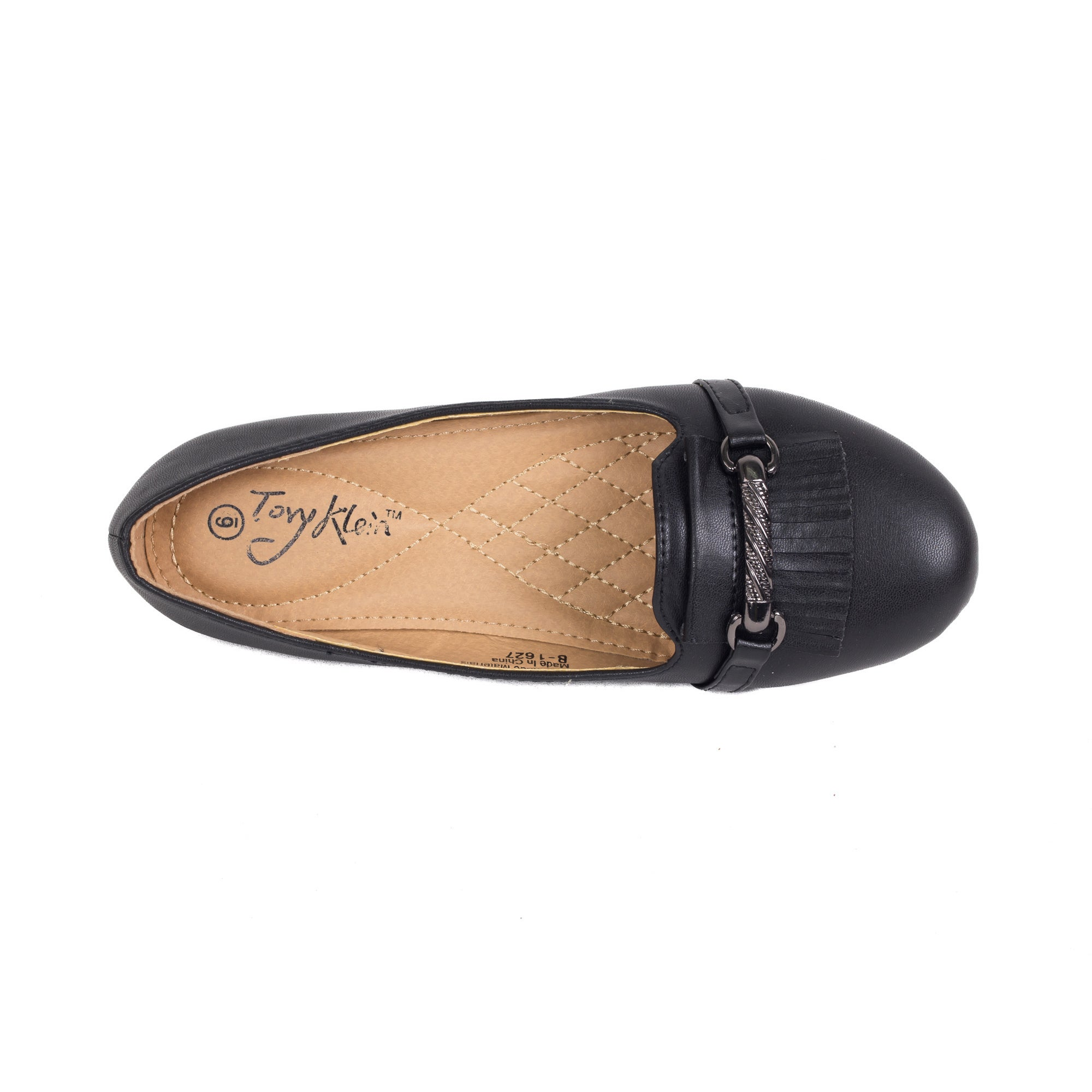 519f89c46e7 Shop Women Buckled Mocassin-style Ballet Flats - Free Shipping On Orders  Over  45 - Overstock.com - 9260832