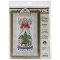 Winter Angel-Jim Shore Counted Cross Stitch Kit-9inX15in 14 Count