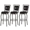 Copper Grove Nantucket Adjustable Bar Stools (Set of 3)