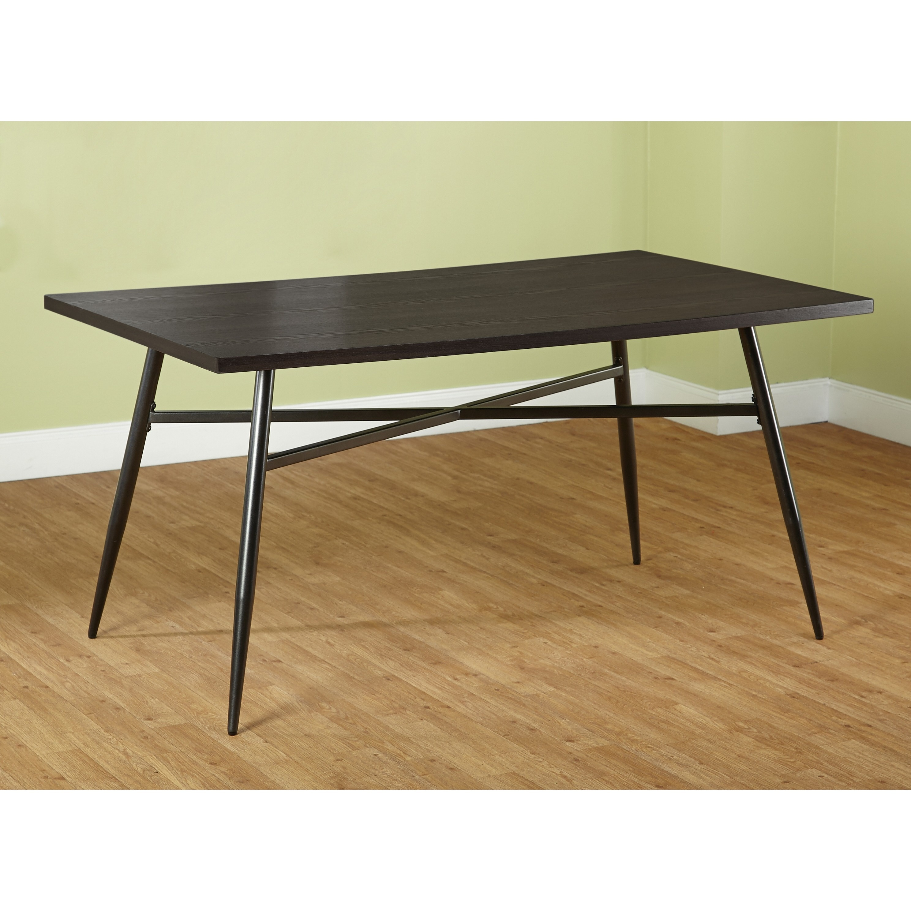 Shop Simple Living Milo Mixed Media Large Dining Table   Free Shipping  Today   Overstock.com   9263022