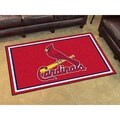 Fanmats MLB St Louis Cardinals Area Rug (4' x 6')