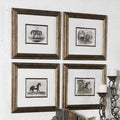 Uttermost Horses Canvas Art (Set of 4)