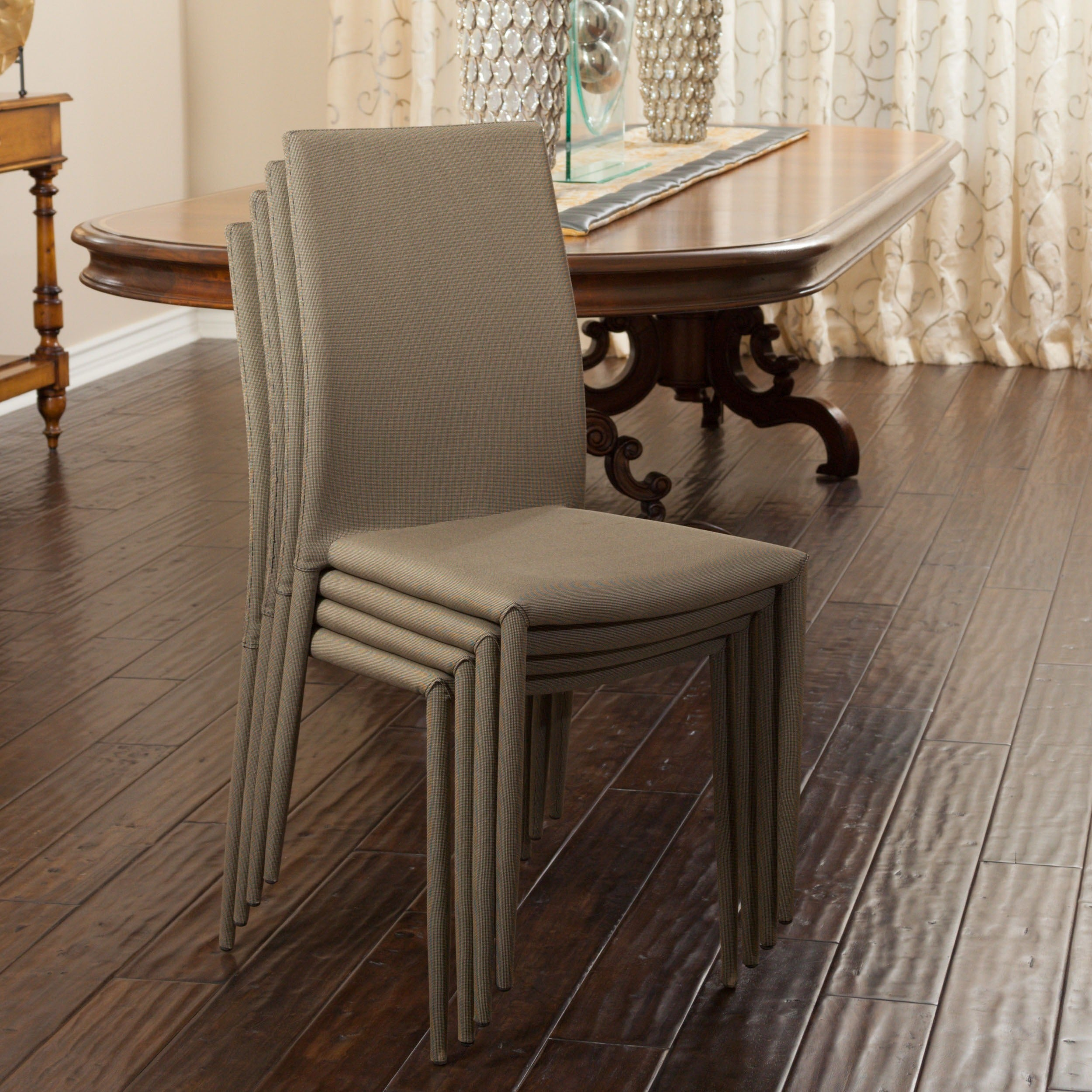 Shop christopher knight home wayfield dining chair set of 4 free shipping today overstock 9275231