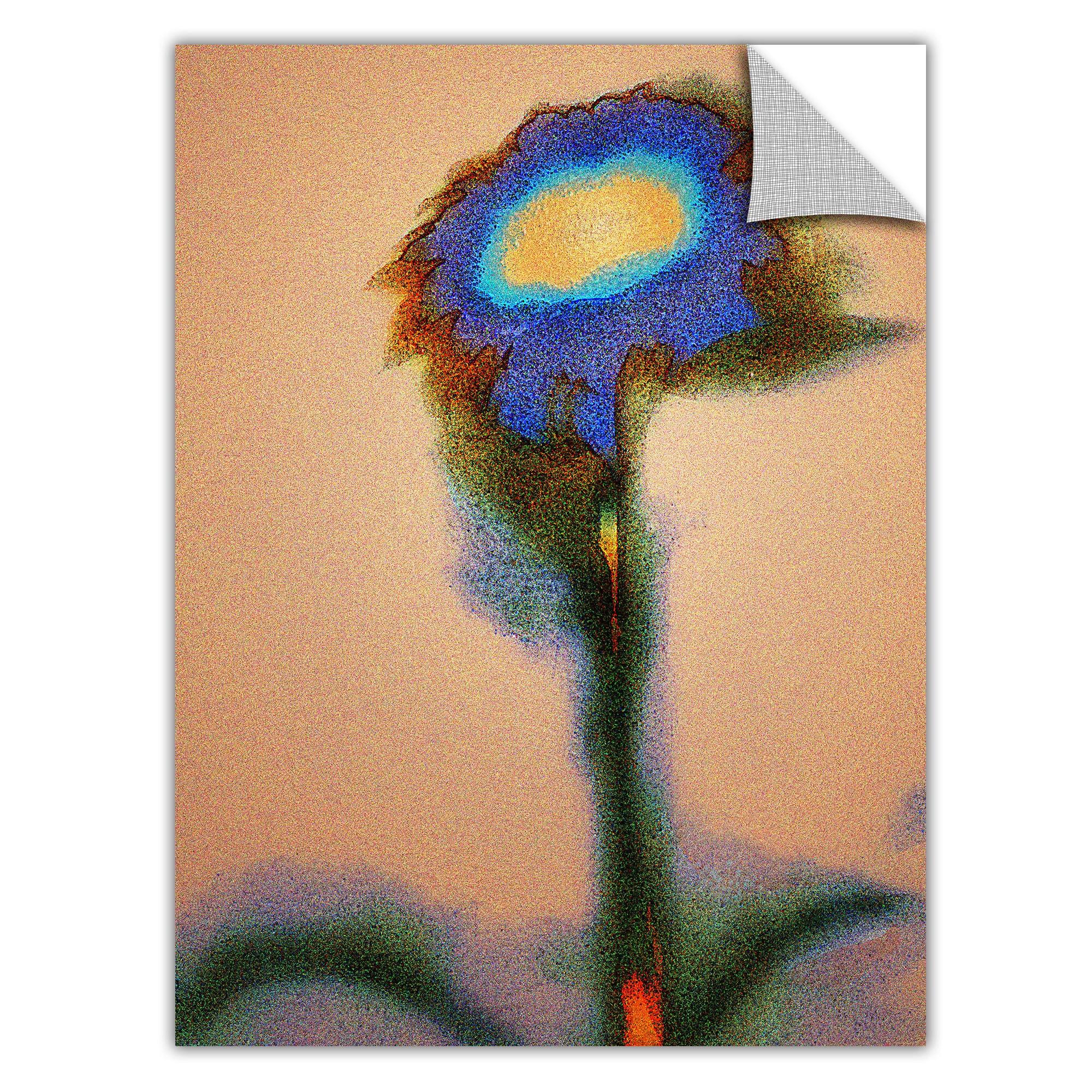 Dean Uhlinger \'Dune Flower\' Removable Wall Art Graphic - Multi ...