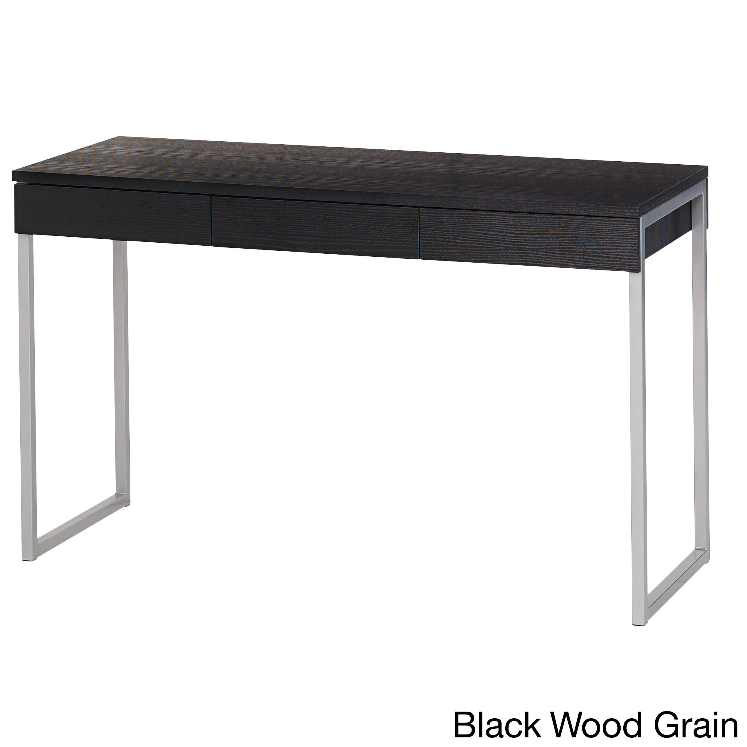 Worth Wood Metal Office Desk   Free Shipping Today   Overstock   16440214