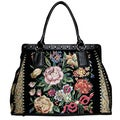 Mellow World Flower Shop Hand-beaded Tote