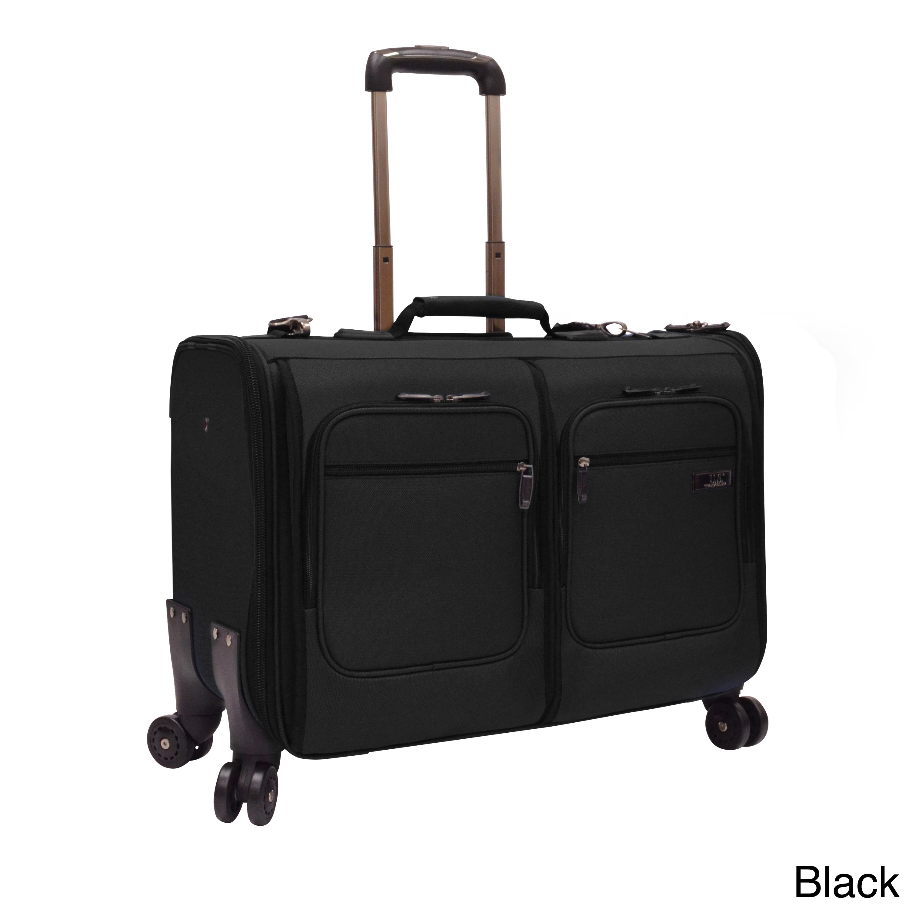 358bff7d3 Shop U.S. Traveler by Traveler's Choice Stimson Carry-on Spinner Garment Bag  - Free Shipping Today - Overstock - 9283974