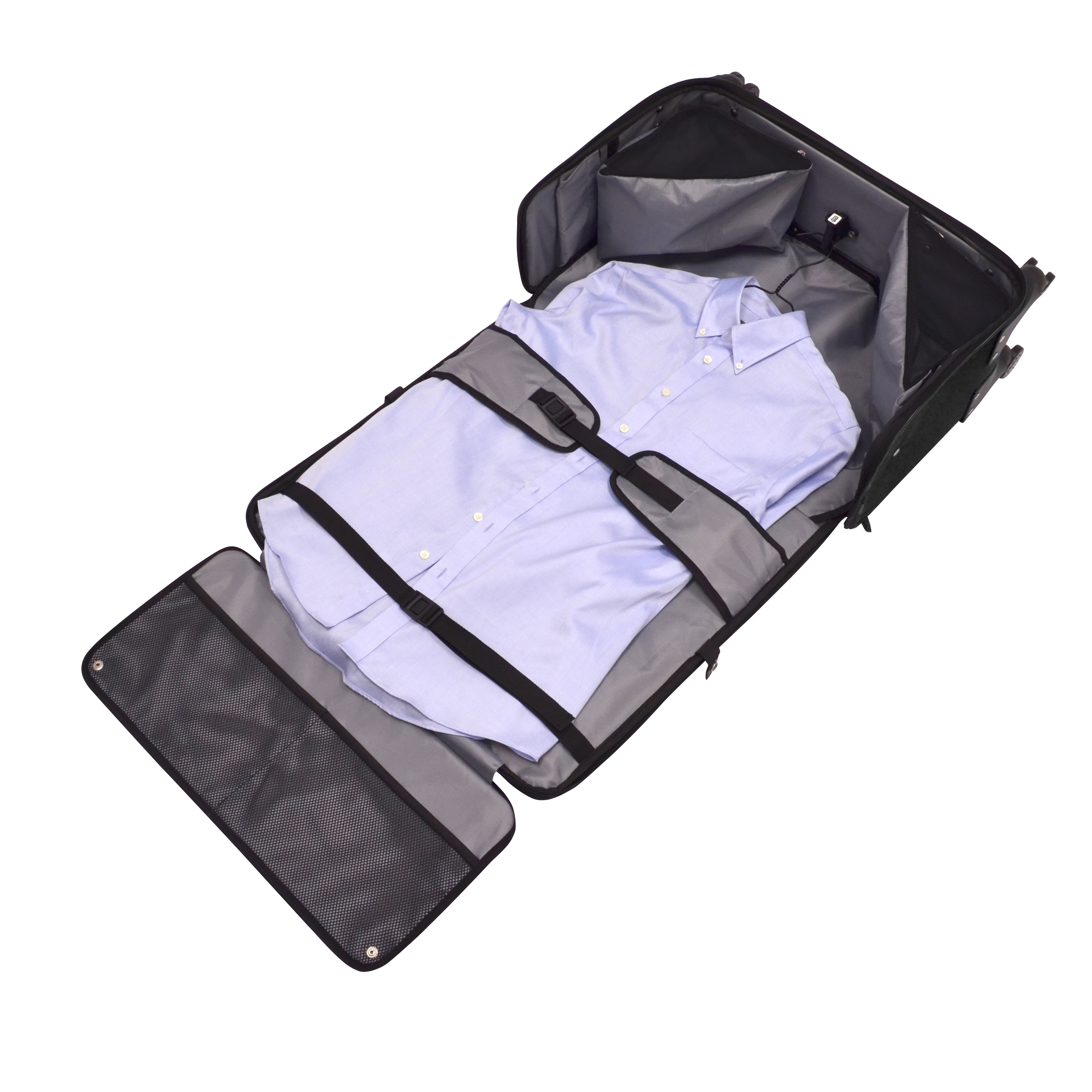0cb8a9441f68 Shop U.S. Traveler by Traveler s Choice Stimson Carry-on Spinner Garment Bag  - Free Shipping Today - Overstock - 9283974
