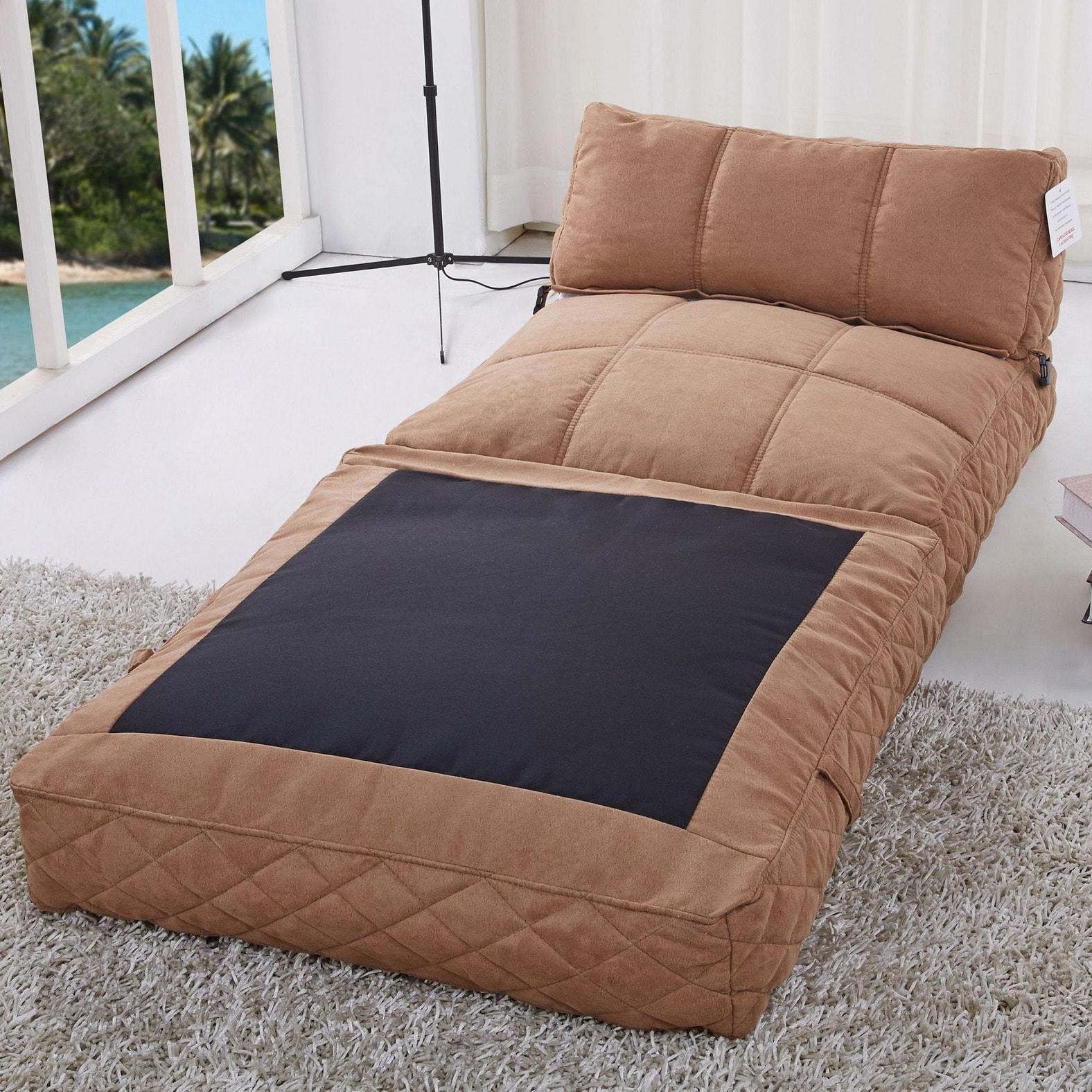 Merveilleux Shop Austin Cobblestone Bean Bag Chair Bed   Free Shipping Today    Overstock.com   9290697