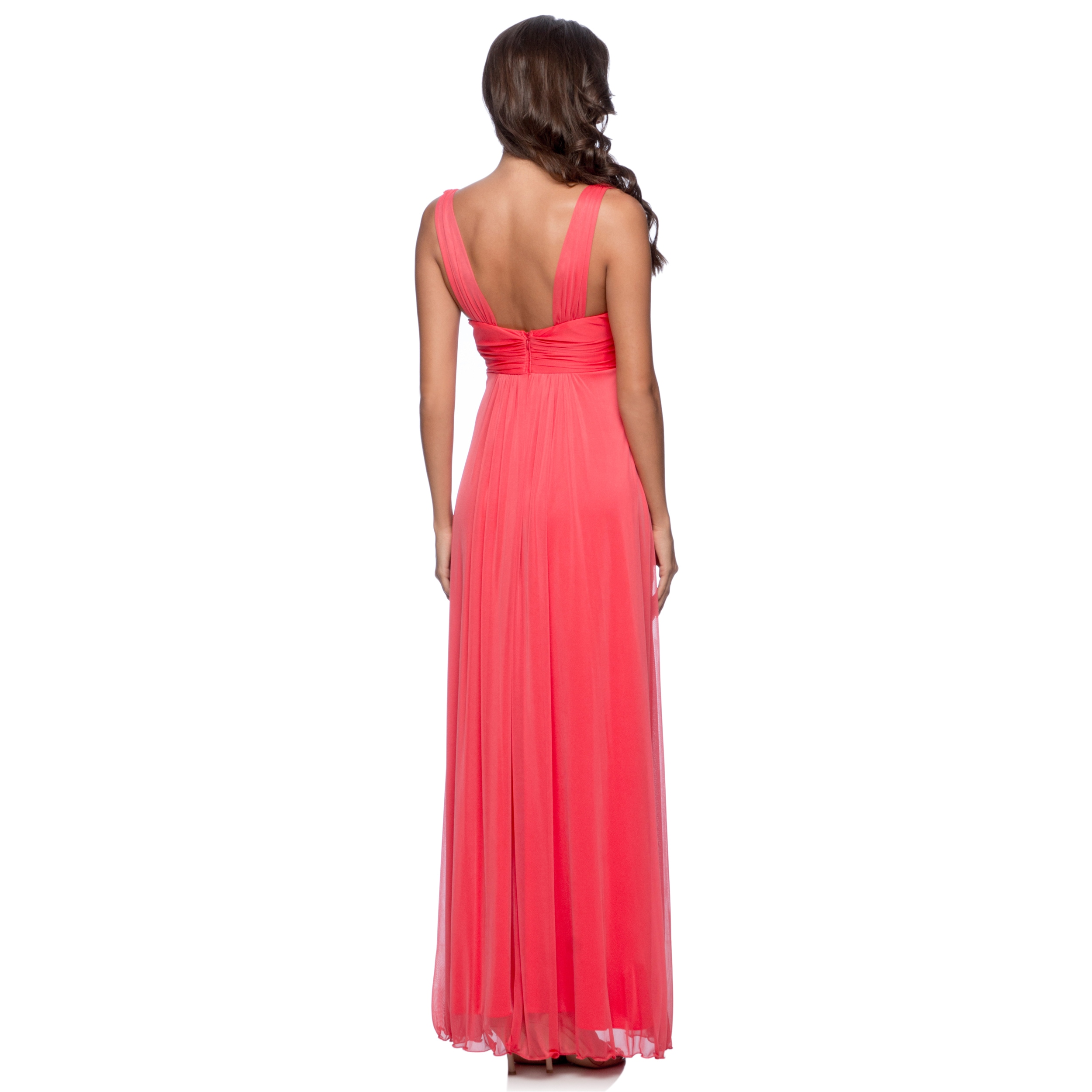 2be26e13cf3 Shop DFI Women s Long Evening Gown - Free Shipping On Orders Over  45 -  Overstock - 9293790