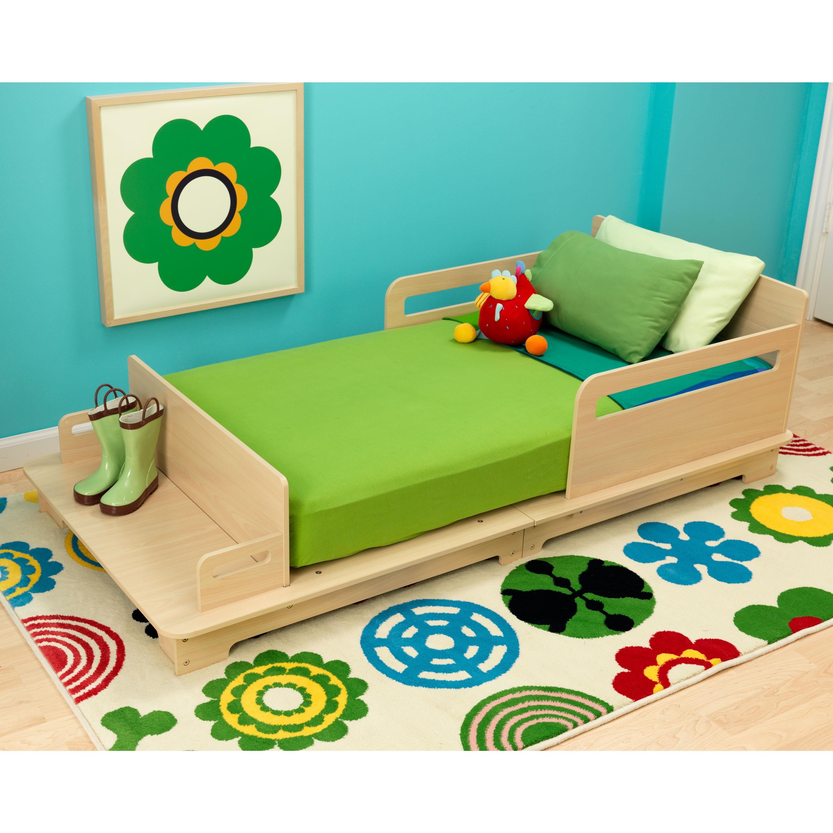 Shop Kidkraft Modern Toddler Bed Overstock 9294596