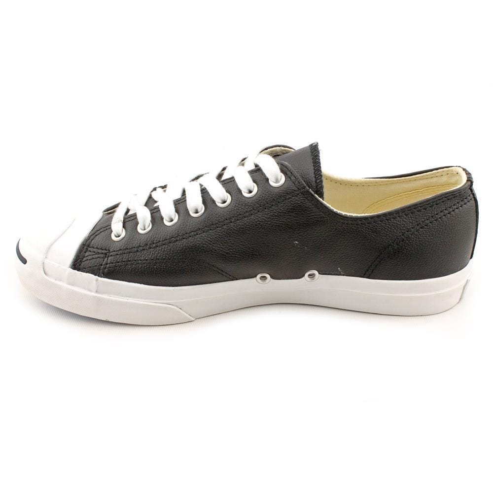 890a979295ea Shop Converse Men s  Jck Purc Ox  Leather Athletic Shoe (Size 9 ) - Black -  Free Shipping Today - Overstock - 9297511