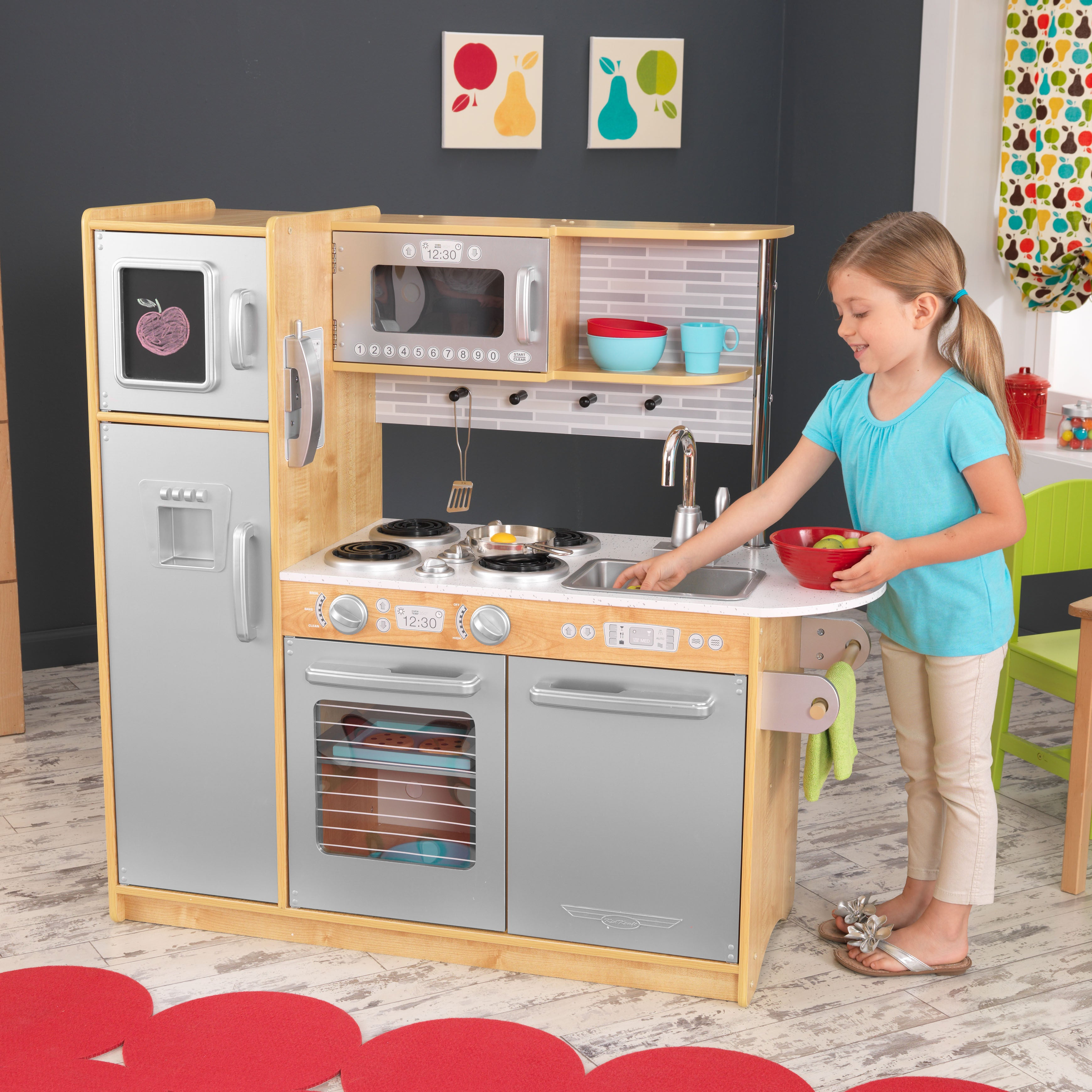 Kidkraft Uptown Natural Kitchen Free Shipping Today 16460137