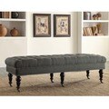 Copper Grove Michaux 62-inch Charcoal Bed Bench