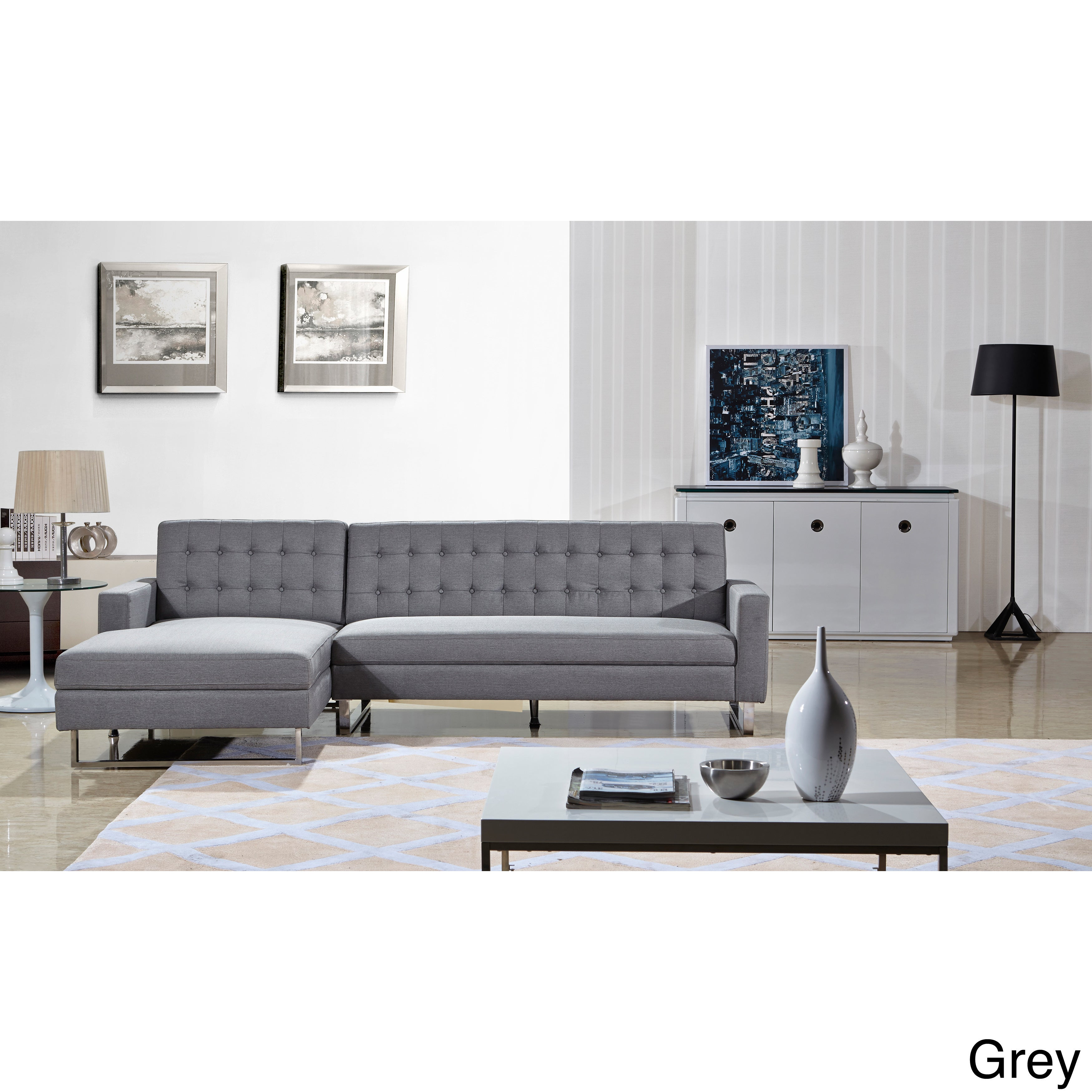 chaise klaussner item left arm and sleeper right by products sectional legacy reclining loveseat dual