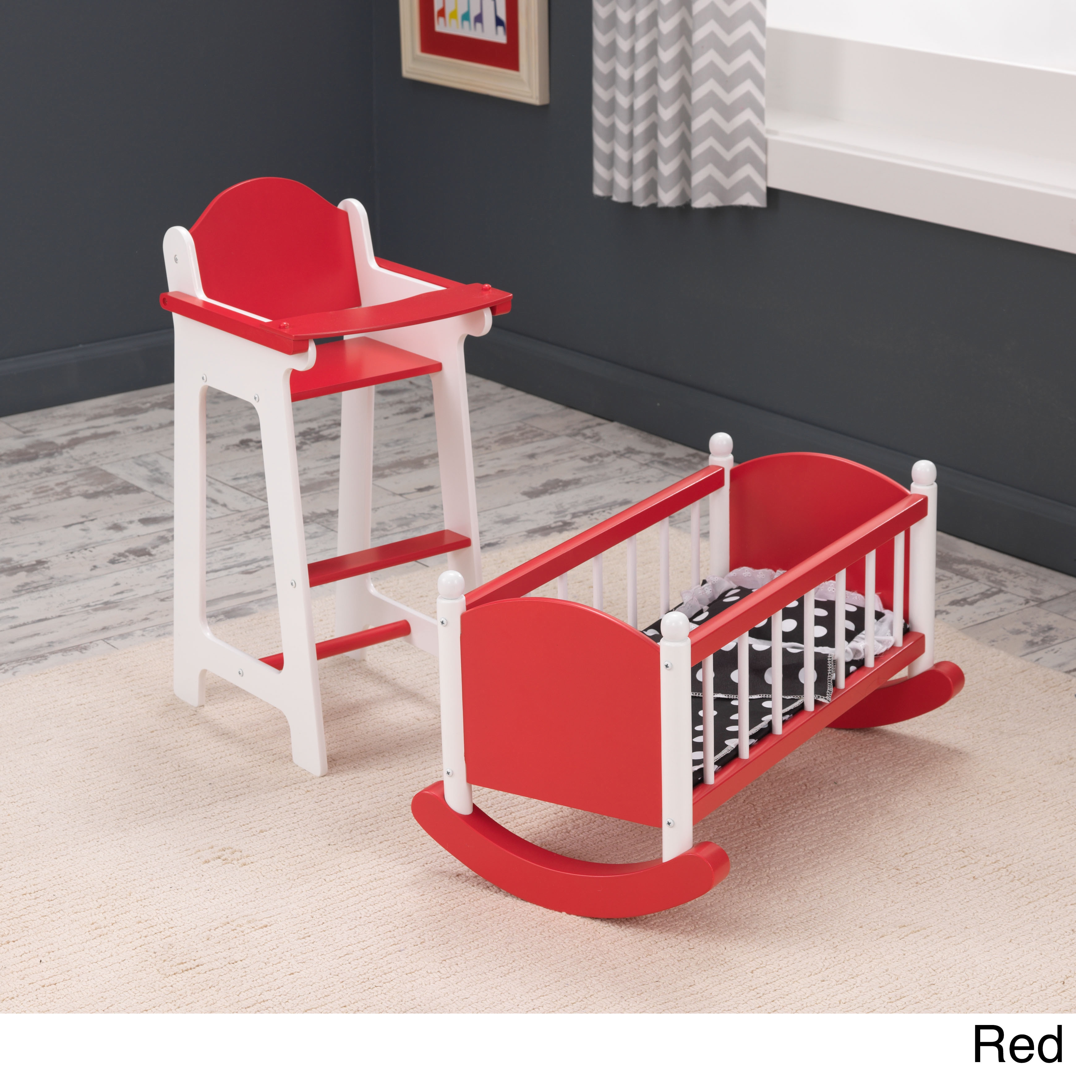 Shop KidKraft Darling Doll Furniture Set   Free Shipping Today    Overstock.com   9306653