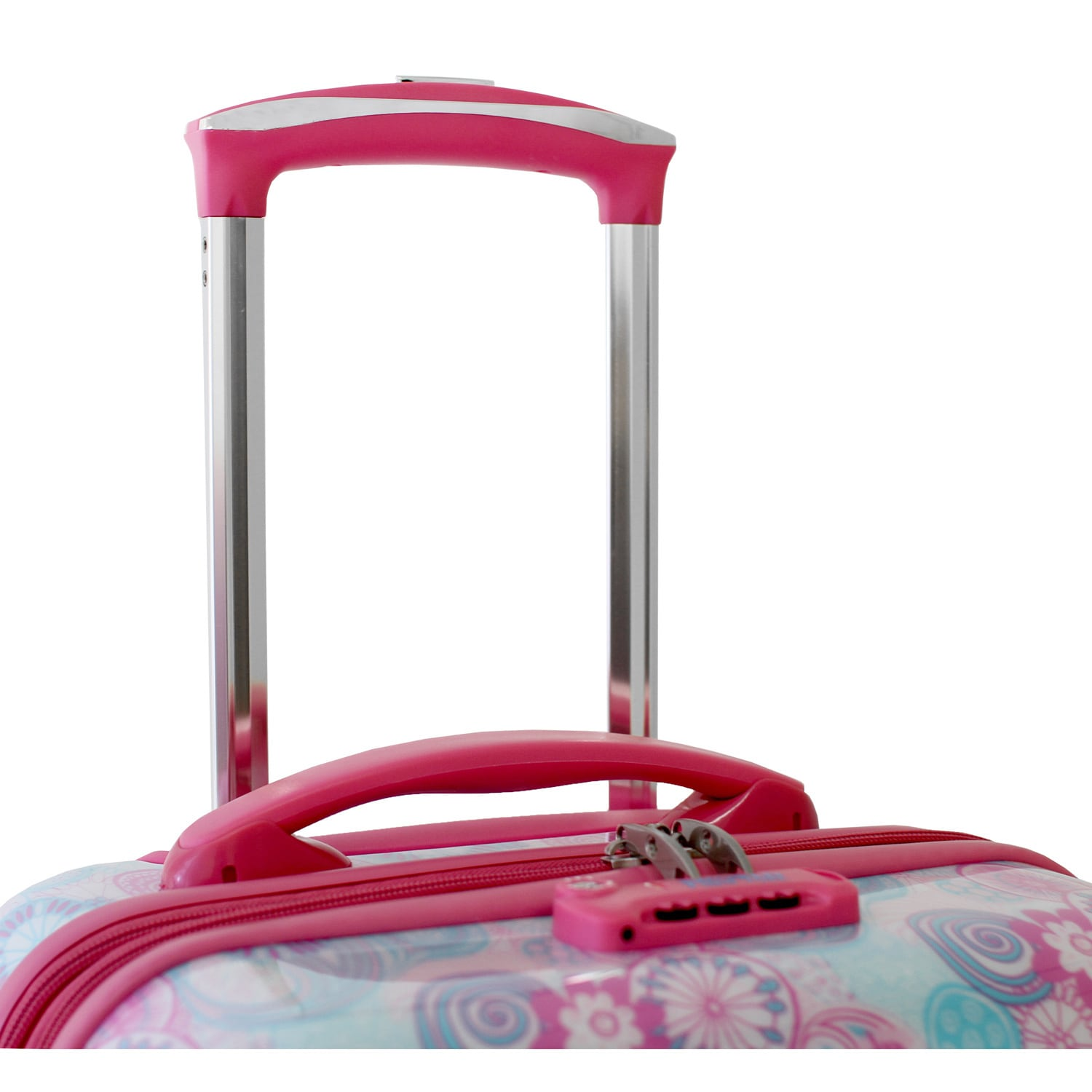 a28c3f246166 JWorld Taqoo 20-inch Hardside Carry On Spinner Upright Suitcase