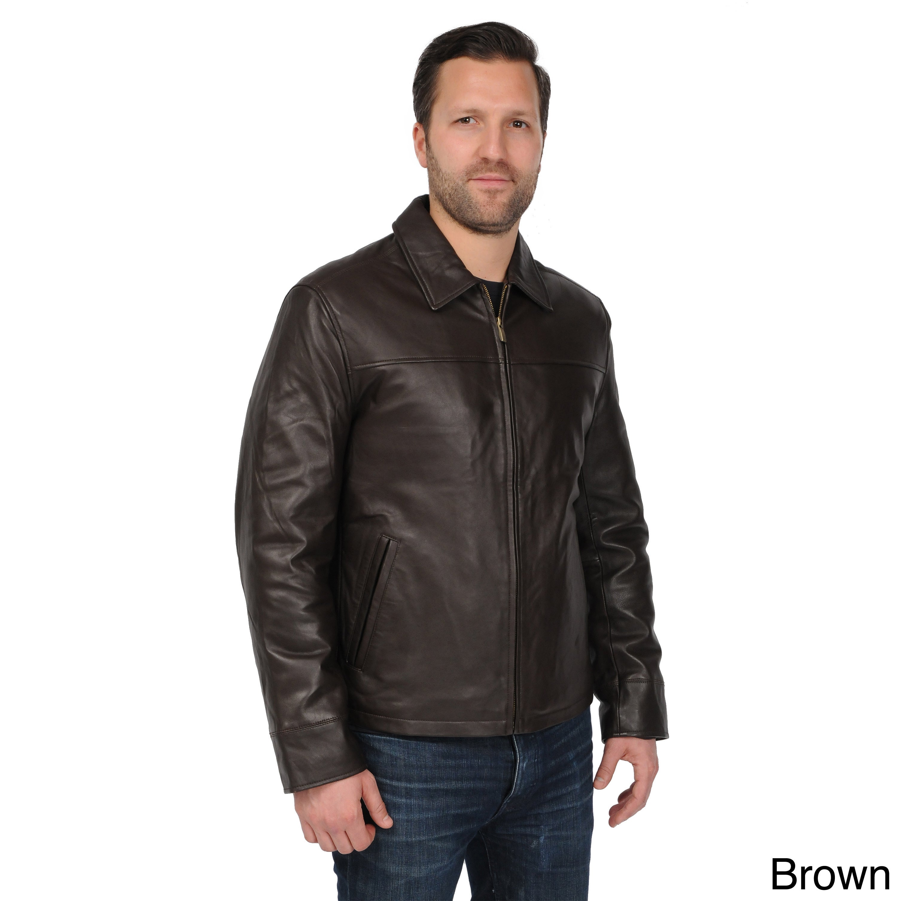0e0748b6950 Shop EXcelled Men s Big and Tall Black New Zealand Lambskin Leather Jacket  - Free Shipping Today - Overstock - 9310254