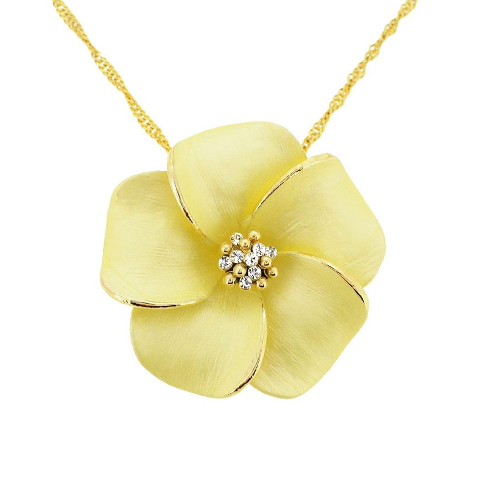 Shop hawaiian plumeria flower crystal pin brooch on sale free shop hawaiian plumeria flower crystal pin brooch on sale free shipping on orders over 45 overstock 9310919 izmirmasajfo
