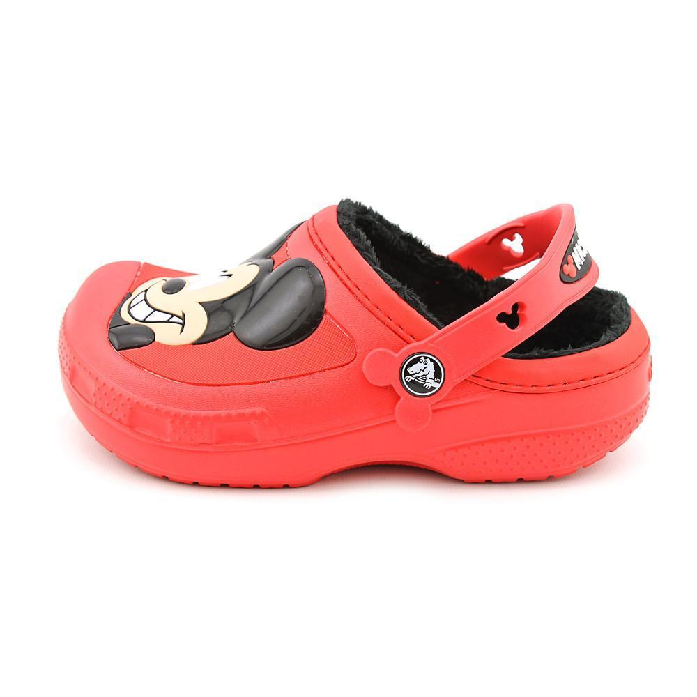 e21a45fe6 Shop Crocs Boy (Youth)  Creative Crocs Mickey Mouse   Goofy Lined Clog   Man-Made Casual Shoes (Size 1 ) - Free Shipping On Orders Over  45 -  Overstock - ...