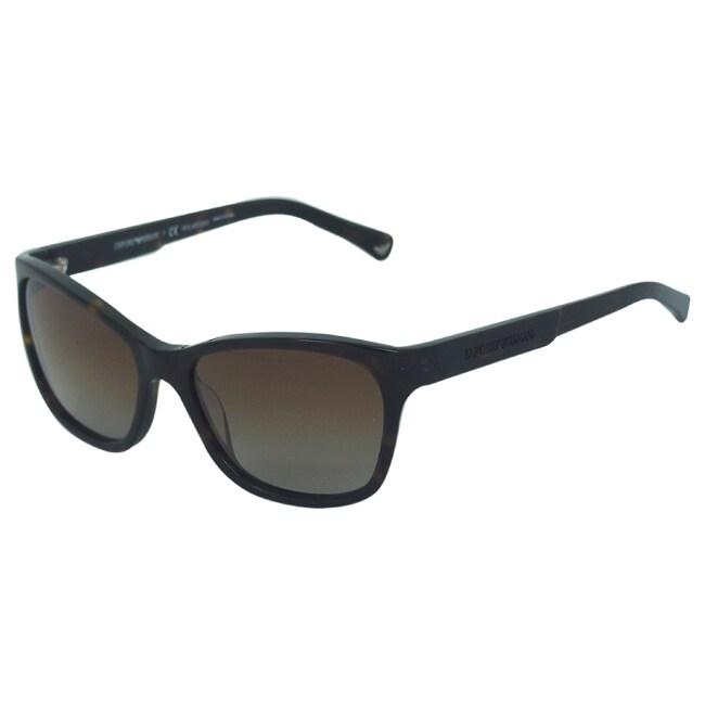 6346cbeae18 Shop Emporio Armani Women s  EA 4004 5026 T5  Sunglasses - Free Shipping  Today - Overstock - 9312998