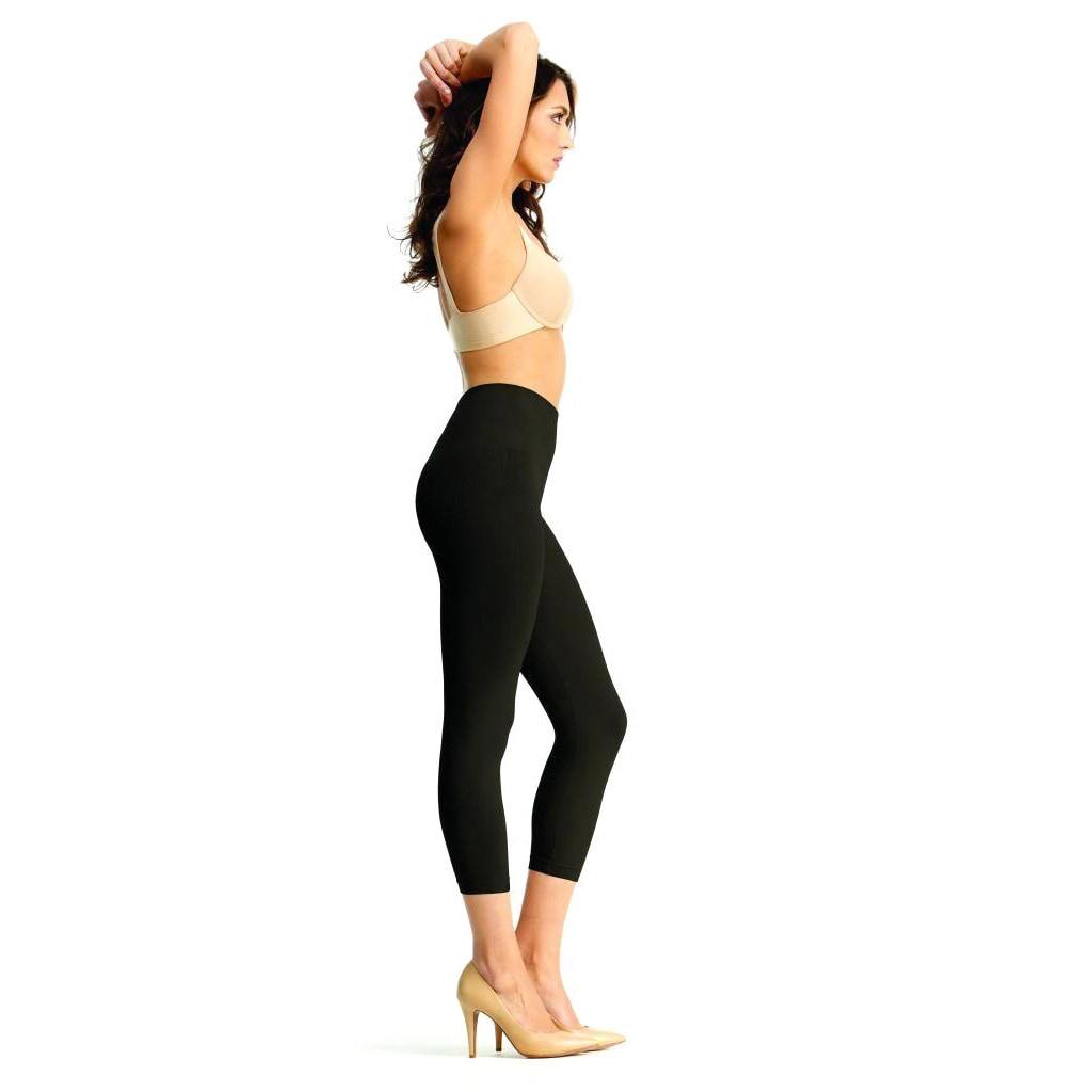 8134575b85f Shop Memoi Women s  SlimMe  High Waist Leggings - Free Shipping On Orders  Over  45 - Overstock - 9313081